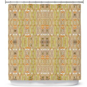 Premium Shower Curtains | Susie Kunzelman - Summers End | Pattern repetition