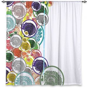 Decorative Window Treatments   Susie Kunzelman - Taffy   Abstract Goemetric
