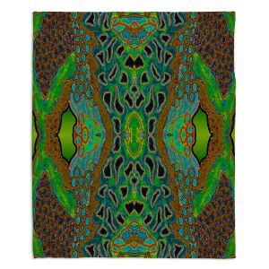Artistic Sherpa Pile Blankets | Susie Kunzelman - Wax Batik A