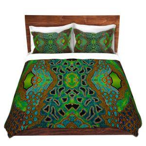 Artistic Duvet Covers and Shams Bedding | Susie Kunzelman - Wax Batik A