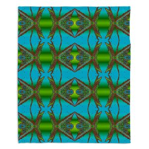Artistic Sherpa Pile Blankets | Susie Kunzelman - Wax Batik B