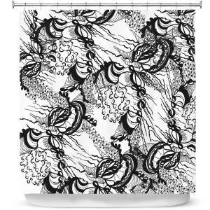 Premium Shower Curtains | Susie Kunzelman - Whirlwind