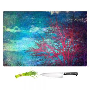 Artistic Kitchen Bar Cutting Boards | Sylvia Cook - Abstract Tree II
