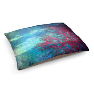 Decorative Dog Pet Beds | Sylvia Cook's Abstract Tree II