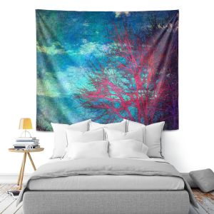 Artistic Wall Tapestry   Sylvia Cook Abstract Tree II
