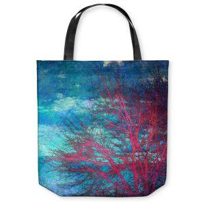 Unique Shoulder Bag Tote Bags | Sylvia Cook Abstract Tree II