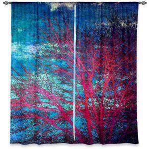 Decorative Window Treatments | Sylvia Cook Abstract Tree II