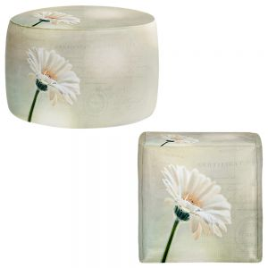 Round and Square Ottoman Foot Stools | Sylvia Cook - Daisy