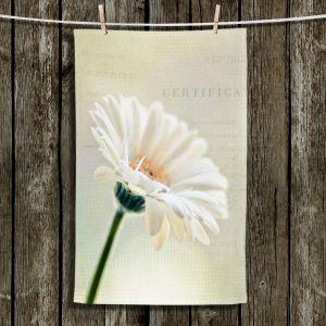 Unique Hanging Tea Towels | Sylvia Cook - Daisy | Flowers