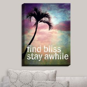 Decorative Canvas Wall Art | Sylvia Cook - Find Bliss II