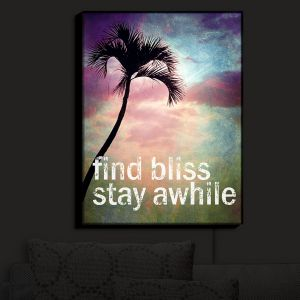 Nightlight Sconce Canvas Light | Sylvia Cook's Find Bliss II