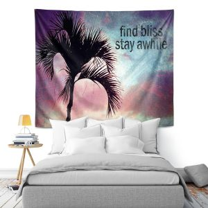 Artistic Wall Tapestry | Sylvia Cook Find Bliss I