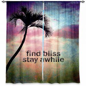 Decorative Window Treatments | Sylvia Cook Find Bliss I