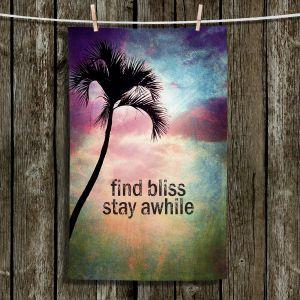 Unique Hanging Tea Towels | Sylvia Cook - Find Bliss I |