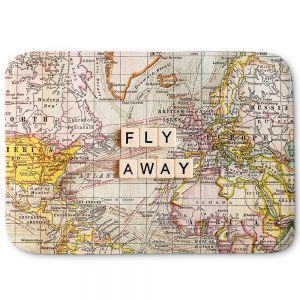 Decorative Bathroom Mats   Sylvia Cook - Fly Away I