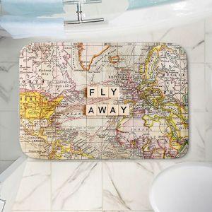 Decorative Bathroom Mats | Sylvia Cook - Fly Away I
