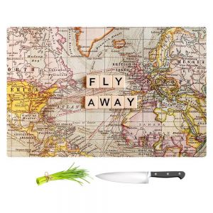 Artistic Kitchen Bar Cutting Boards | Sylvia Cook - Fly Away I