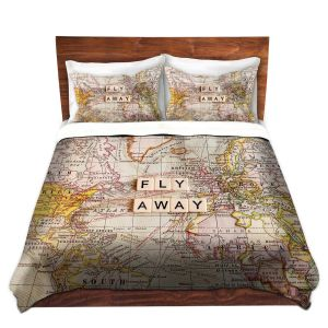 Artistic Duvet Covers and Shams Bedding   Sylvia Cook - Fly Away I