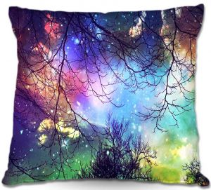Decorative Outdoor Patio Pillow Cushion   Sylvia Cook - Look to the Stars