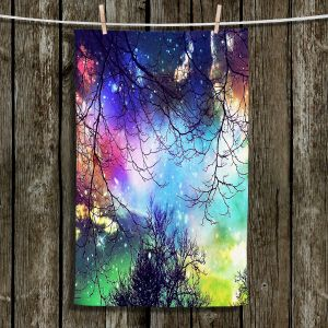 Unique Hanging Tea Towels   Sylvia Cook - Look to the Stars   Sunset Sky