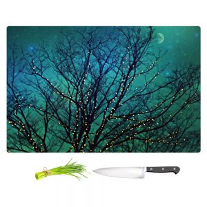 Artistic Kitchen Bar Cutting Boards | Sylvia Cook - Magical Night