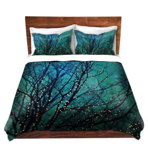 Artistic Duvet Covers and Shams Bedding | Sylvia Cook - Magical Night