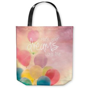 Unique Shoulder Bag Tote Bags | Sylvia Cook Make Your Dreams Come True