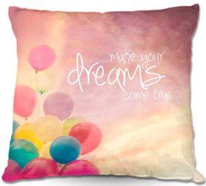 Decorative Outdoor Patio Pillow Cushion | Sylvia Cook - Make Your Dreams Come True