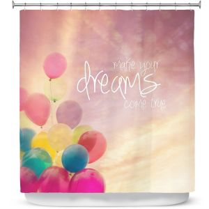Premium Shower Curtains | Sylvia Cook Make Your Dreams Come True