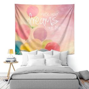 Artistic Wall Tapestry | Sylvia Cook Make Your Dreams Come True