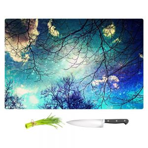 Artistic Kitchen Bar Cutting Boards | Sylvia Cook - Night Sky