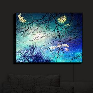 Unique Illuminated Wall Art 30 x 23 from DiaNoche Designs by Sylvia Cook - Night Sky