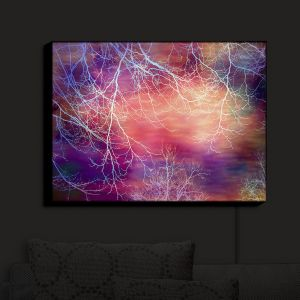 Nightlight Sconce Canvas Light | Sylvia Cook - Night Time Trees I | Nighttime Trees Branches