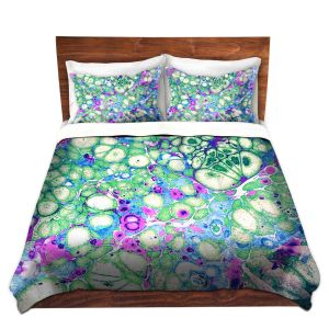 Artistic Duvet Covers and Shams Bedding | Sylvia Cook - Razzle Dazzle