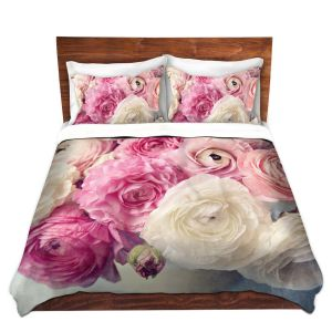 Artistic Duvet Covers and Shams Bedding   Sylvia Cook - Shades of Pink