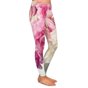 Casual Comfortable Leggings | Sylvia Cook - Shades of Pink