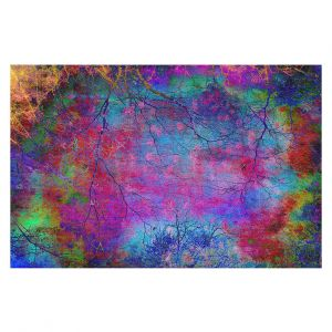 Decorative Floor Covering Mats | Sylvia Cook - Solitude | abstract nature