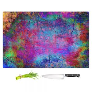 Artistic Kitchen Bar Cutting Boards | Sylvia Cook - Solitude | abstract nature