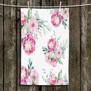 Unique Hanging Tea Towels | Sylvia Cook - Spring Flowers 2