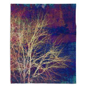 Decorative Fleece Throw Blankets | Sylvia Cook - Strange Days