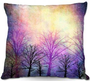 Decorative Outdoor Patio Pillow Cushion   Sylvia Cook - Trees