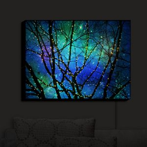 Unique Illuminated Wall Art 20 x 16 from DiaNoche Designs by Sylvia Cook - Twilight