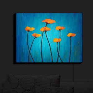 Nightlight Sconce Canvas Light | Tara Viswanathan's Eternal Poppies