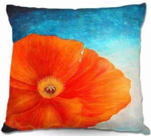 Decorative Outdoor Patio Pillow Cushion   Tara Viswanathan - Poppy