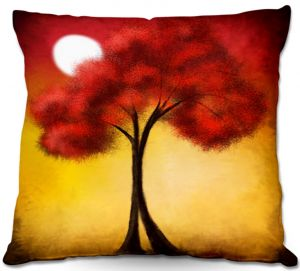 Decorative Outdoor Patio Pillow Cushion | Tara Viswanathan - United We Stand