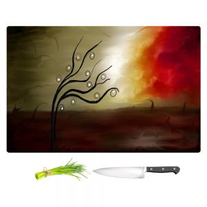 Artistic Kitchen Bar Cutting Boards | Tara Viswanathan - Wild Desire I
