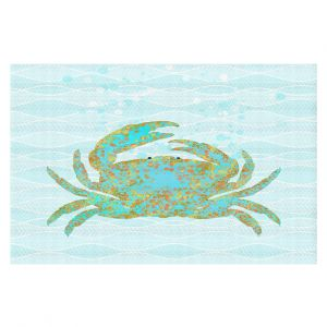 Decorative Floor Coverings | Tina Lavoie - Kramer Crab | Ocean Nature Sealife