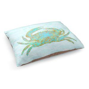 Decorative Dog Pet Beds | Tina Lavoie - Kramer Crab | Ocean Nature Sealife