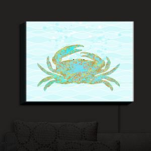 Nightlight Sconce Canvas Light | Tina Lavoie - Kramer Crab