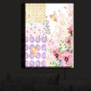 Nightlight Sconce Canvas Light | Tina Lavoie - Lazy Summer 1